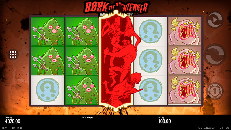 Изображение игрового автомата Bork the Berzerker 1