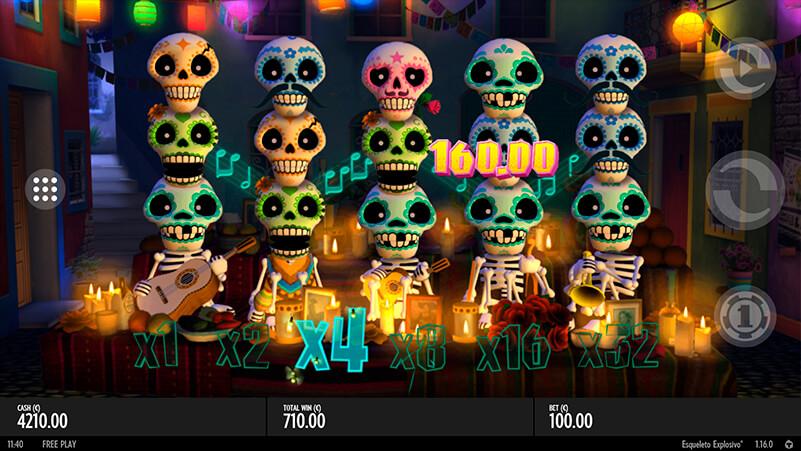 Изображение игрового автомата Esqueleto Explosivo 1