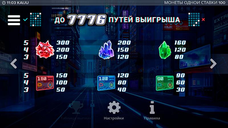 Изображение игрового автомата Kaiju 3