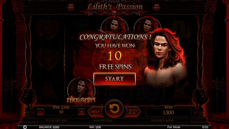 Изображение игрового автомата Lilith's Passion 3