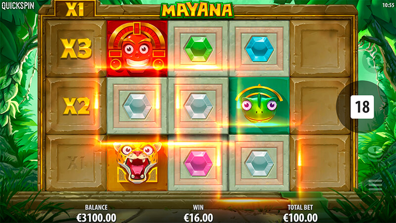 Изображение игрового автомата Mayana 2