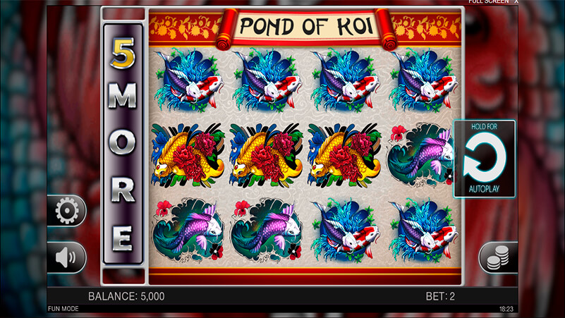Изображение игрового автомата Pond of Koi 1