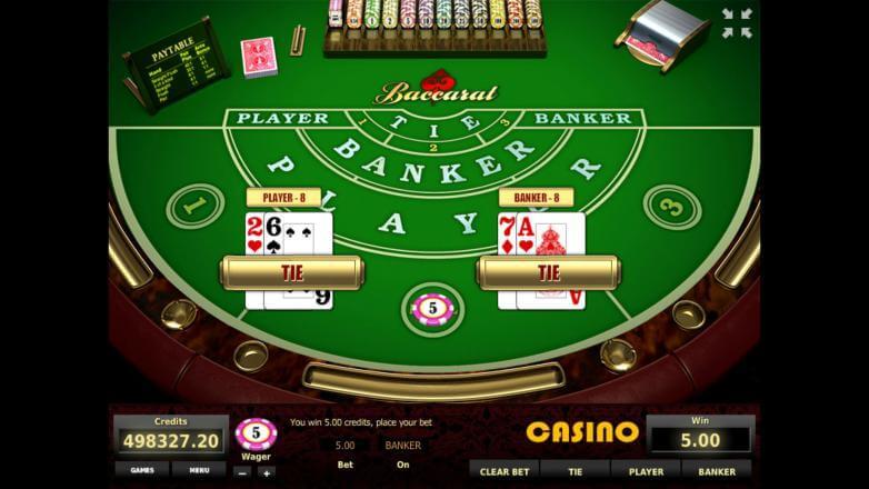 Изображение игрового автомата Baccarat 3