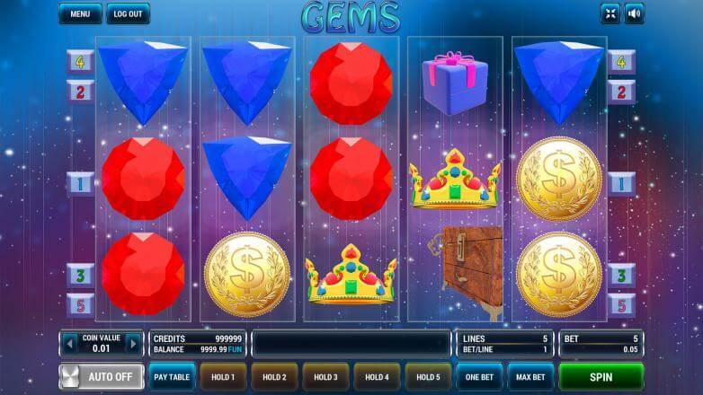 Изображение игрового автомата Gems 2