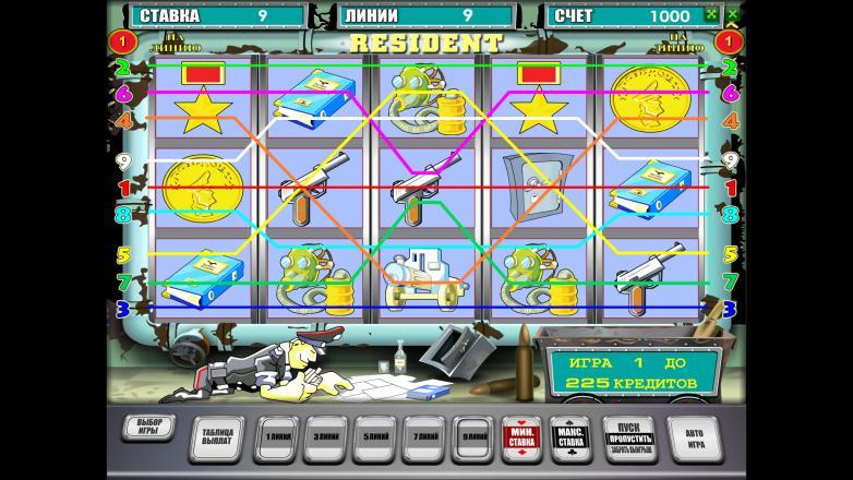 Изображение игрового автомата Resident 1