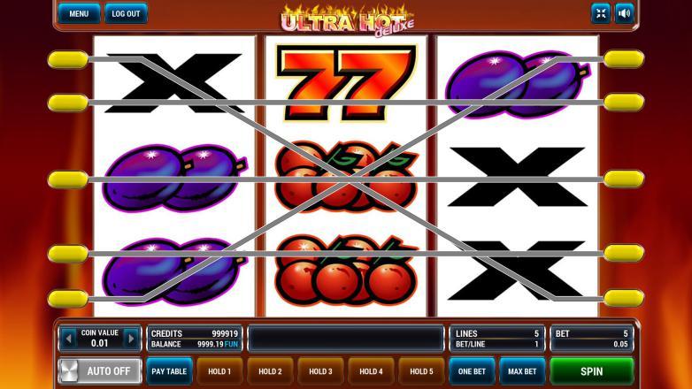 Изображение игрового автомата Ultra Hot Deluxe 1