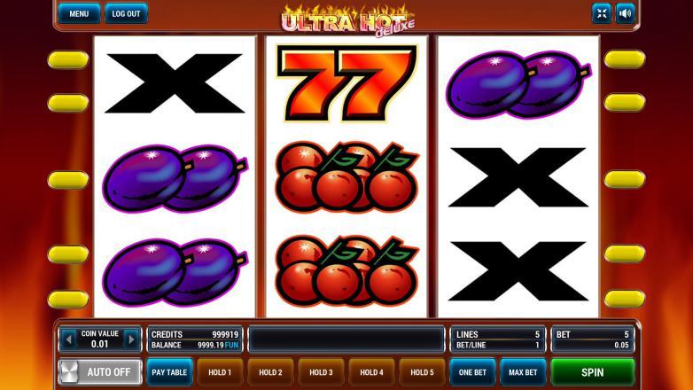 Изображение игрового автомата Ultra Hot Deluxe 3